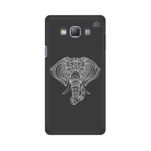 Ethnic Elephant Art Samsung A7 Phone Cover