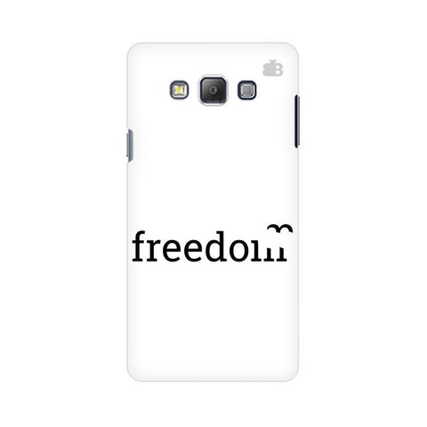 Freedom Samsung A7 Phone Cover