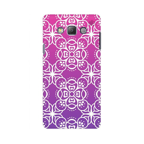 Indian Ethnic Art Samsung A7 Phone Cover