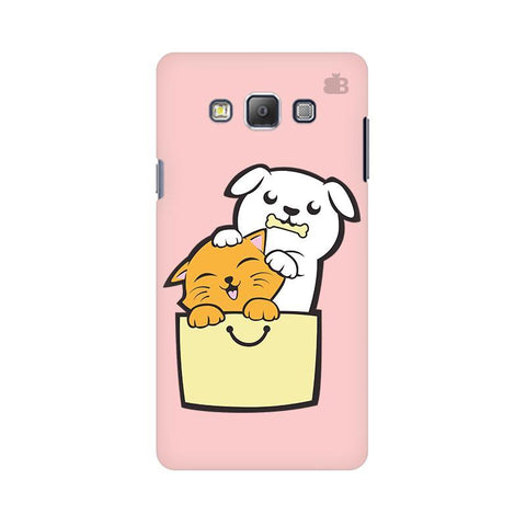 Kitty Puppy Buddies Samsung A7 Phone Cover