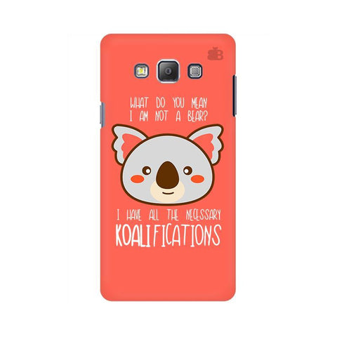 Koalifications Samsung A7 Phone Cover
