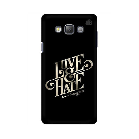 Love & Hate Samsung A7 Phone Cover