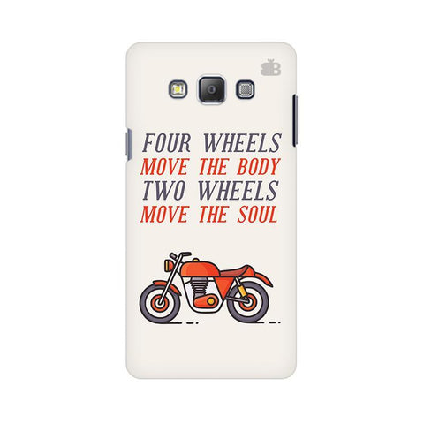 Motorcyclist Samsung A7 Phone Cover