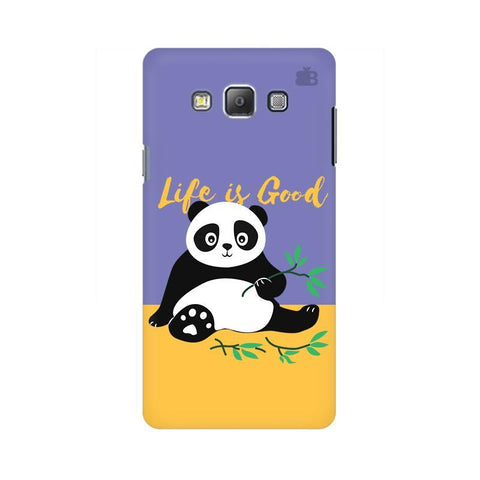 Panda Life is Good Samsung A7 Phone Cover