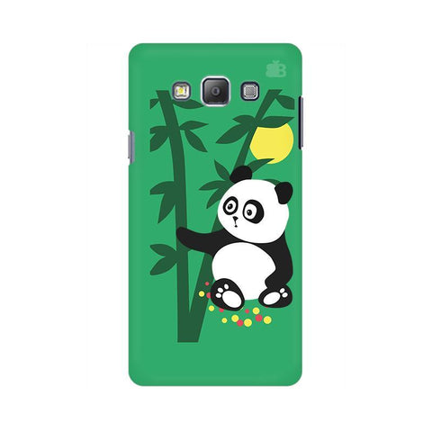 Panda in Woods Samsung A7 Phone Cover