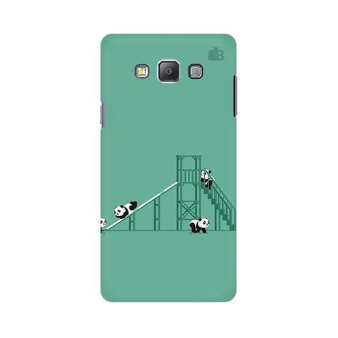 Pandas Playing Samsung A7 Phone Cover