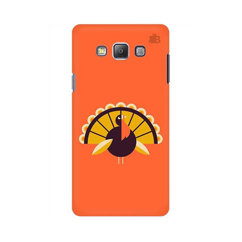 Peacock Samsung A7 Phone Cover