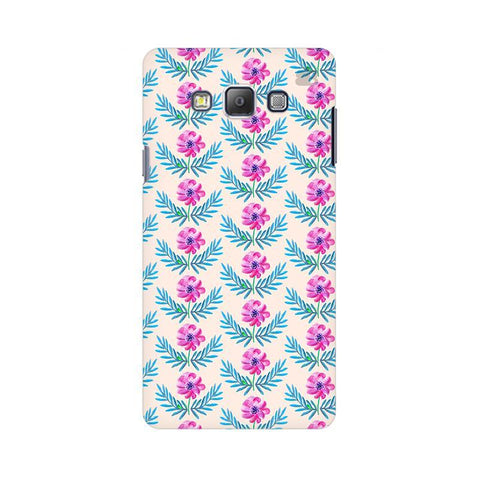 Pink Watercolor Pattern Samsung A7 Phone Cover