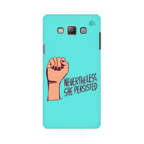 She Persisted Samsung A7 Phone Cover