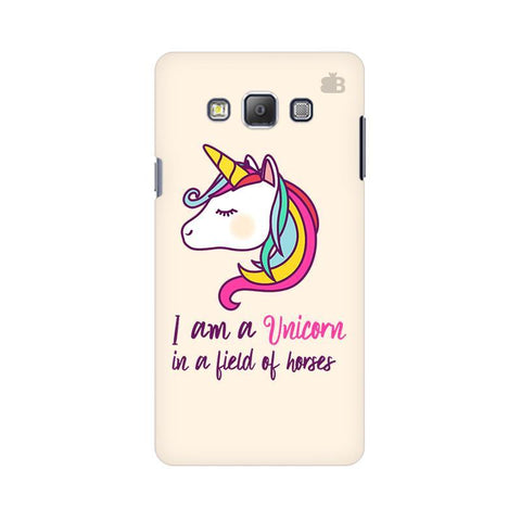 Unicorn in Horses Samsung A7 Phone Cover