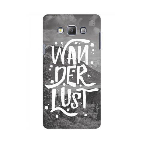 Wanderlust Samsung A7 Phone Cover