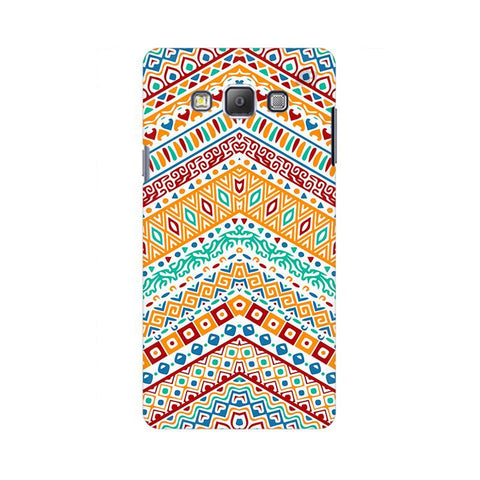Wavy Ethnic Art Samsung A7 Phone Cover