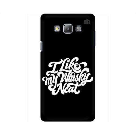 Whiskey Neat Samsung A7 Phone Cover