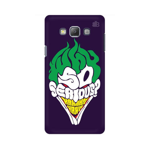 Why So Serious Samsung A7 Phone Cover