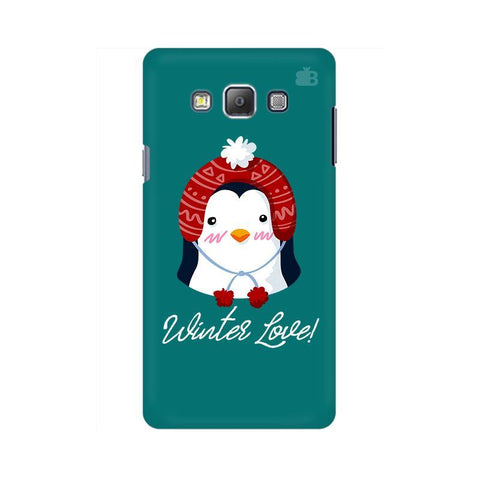 Winter Love Samsung A7 Phone Cover