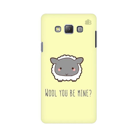 Wool Samsung A7 Phone Cover