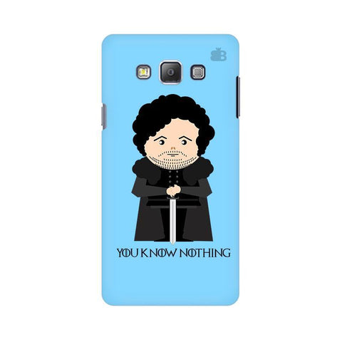 You Know Nothing Samsung A7 Phone Cover