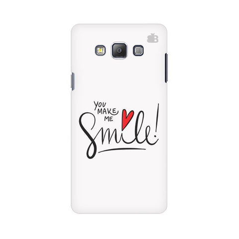 You make me Smile Samsung A7 Phone Cover
