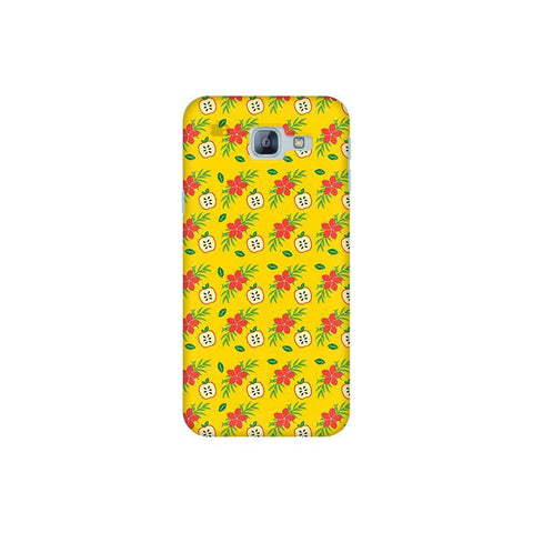 Apples & Flowers Samsung A8 2016 Phone Cover