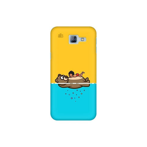Baloo and Mowgli Samsung A8 2016 Phone Cover