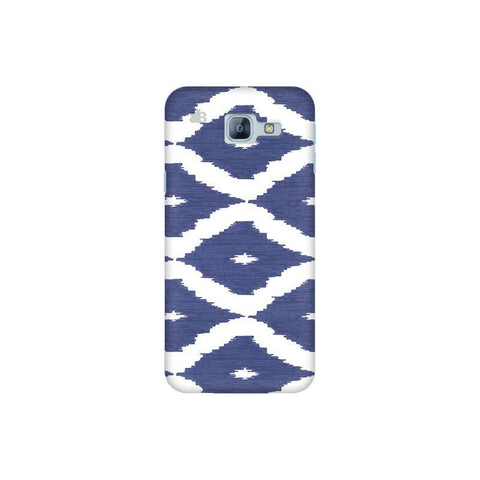 Blue Ikat Samsung A8 2016 Phone Cover