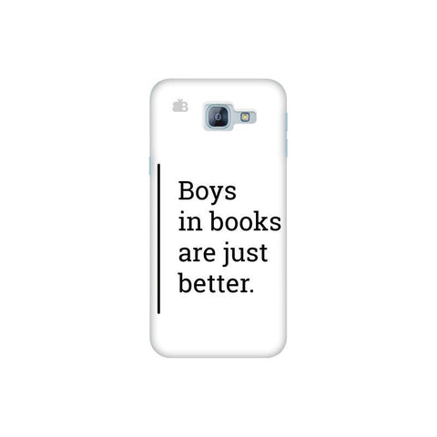 Boys in Books Samsung A8 2016 Phone Cover