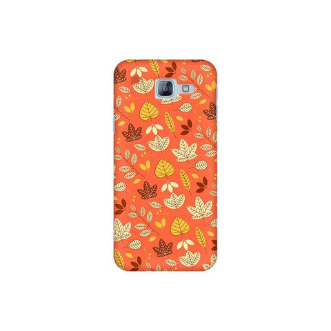 Cute Leaves Pattern Samsung A8 2016 Phone Cover