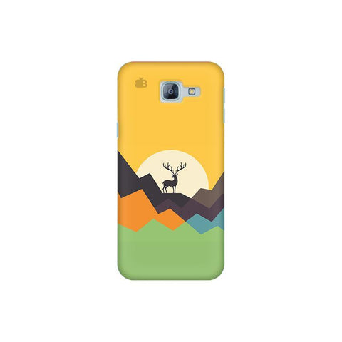 Deer in Mountains Samsung A8 2016 Phone Cover
