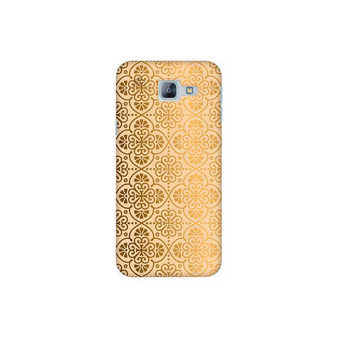 Ethnic Gold Ornament Samsung A8 2016 Phone Cover