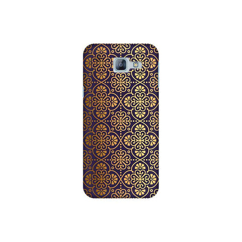 Gold Ornament Samsung A8 2016 Phone Cover