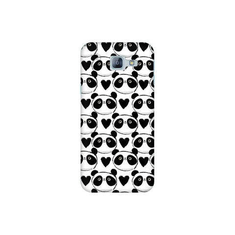 Happy Panda Pattern Samsung A8 2016 Phone Cover