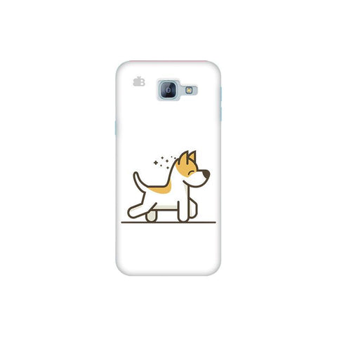Happy Puppy Samsung A8 2016 Phone Cover