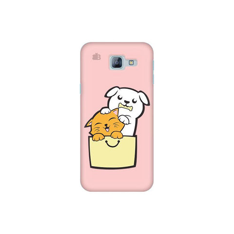 Kitty Puppy Buddies Samsung A8 2016 Phone Cover