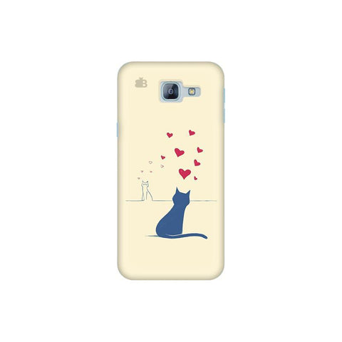 Kitty in Love Samsung A8 2016 Phone Cover