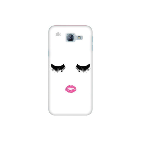 Lashes and Lips Samsung A8 2016 Phone Cover