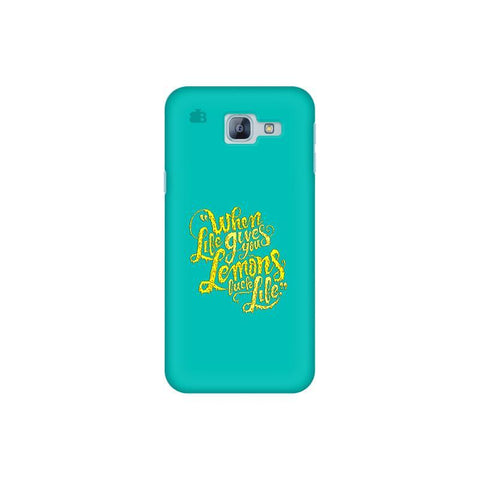 Life gives Lemons Samsung A8 2016 Phone Cover