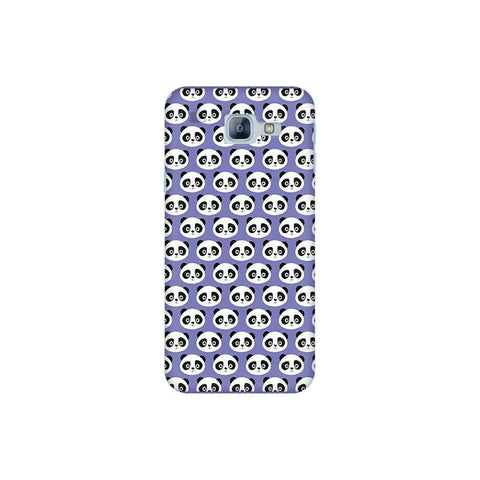 Panda Pattern Samsung A8 2016 Phone Cover