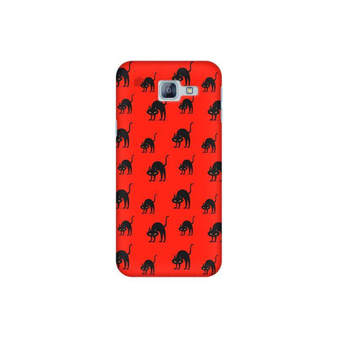 Scary Cats Samsung A8 2016 Phone Cover