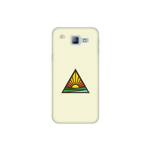Triangular Sun Samsung A8 2016 Phone Cover