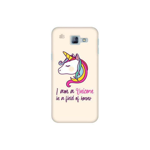 Unicorn in Horses Samsung A8 2016 Phone Cover