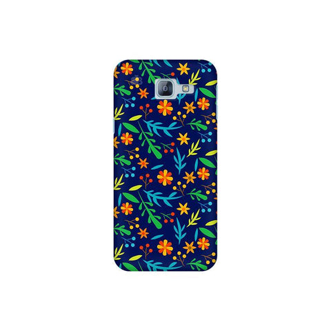 Vibrant Floral Pattern Samsung A8 2016 Phone Cover