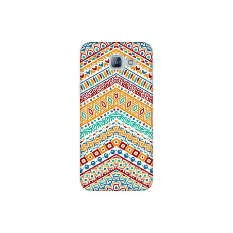 Wavy Ethnic Art Samsung A8 2016 Phone Cover