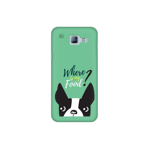 Where is my Food Samsung A8 2016 Phone Cover