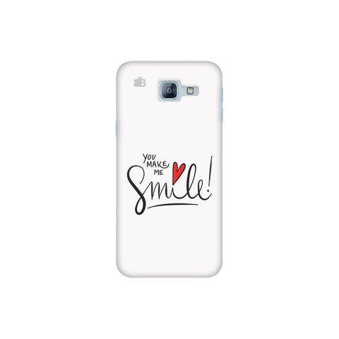 You make me Smile Samsung A8 2016 Phone Cover