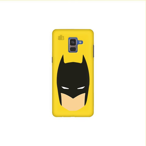 Angry Masked Superhero Samsung A8 Plus Phone Cover