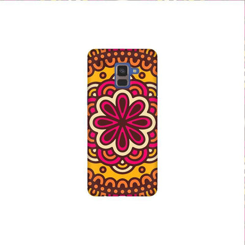 Colorful Ethnic Art Samsung A8 Plus Phone Cover