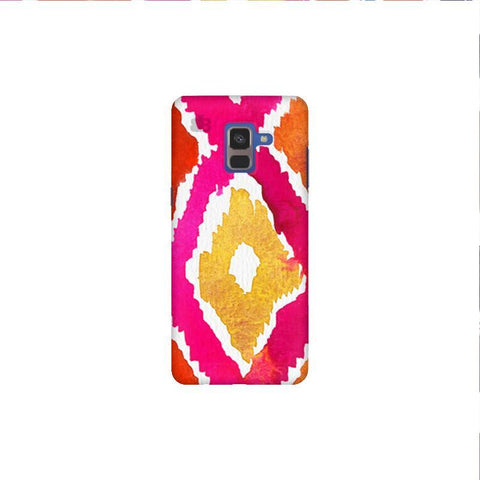 Colorful Ikat Samsung A8 Plus Phone Cover