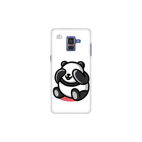 Cute Panda Samsung A8 Plus Phone Cover