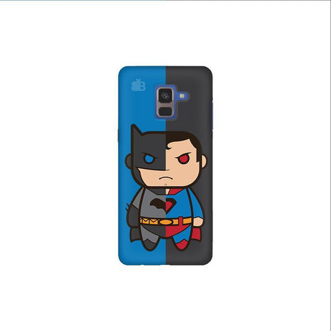 Cute Superheroes Annoyed Samsung A8 Plus Phone Cover