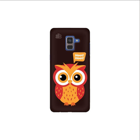 Hoot Hoot Samsung A8 Plus Phone Cover